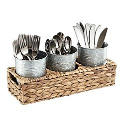 Artland® Garden Terrace Silverware Caddy Basket