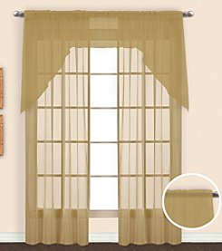 United Curtain Co. Monte Carlo Voile Window Curtain