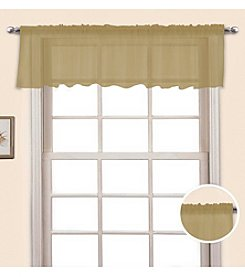 United Curtain Co. Monte Carlo Voile Valance