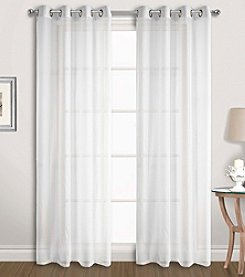 United Curtain Co. Special Voile Grommet Window Curtain