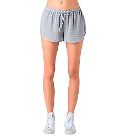 Standards & Practices Taylor Stripe Knit Shorts