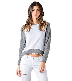 Standards & Practices Neesa Raglan Long Sleeve Top
