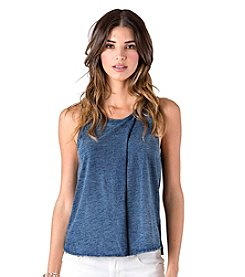 Standards & Practices Brandie Cross Over Jersey Tank Top