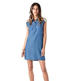Standards & Practices Crystal Tencel Denim Dress