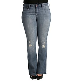 Standards & Practices Plus Size Clarice Flare Jeans