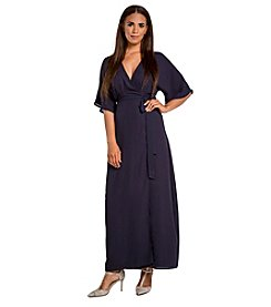 Standards & Practices Olivia Wrap Kimono Maxi Dress