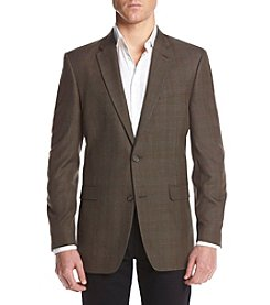 Tommy Hilfiger® Men's Tan Plaid Sport Coat