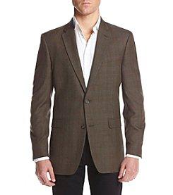 Tommy Hilfiger® Men's Tan Plaid Sport Coat