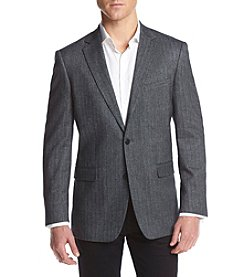 John Bartlett Statements Men's Cashmere Herringbone Sport Coat
