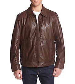 Andrew Marc® Men's Hanover Leather Jacket