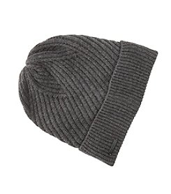 Calvin Klein Ribbed Knit Cuffed Hat