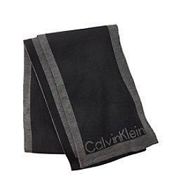 Calvin Klein Jacquard Logo Scarf