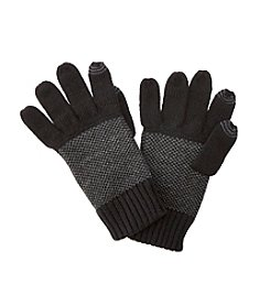 Calvin Klein Men's Birds Eye Back Gloves