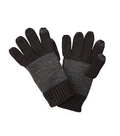 Calvin Klein Men's Birds Eye Back Gloves