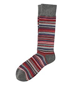 Kenneth Roberts® Men's Red Stripe Dress Socks