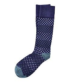 Kenneth Roberts® Men's Dot Colorblock Dress Socks