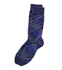 Kenneth Roberts® Men's Plaid Dress Socks