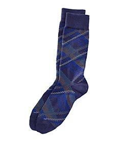 Kenneth Roberts® Men's Plaid Dress Socks