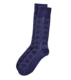 Kenneth Roberts® Men's Diamond Dot Dress Socks