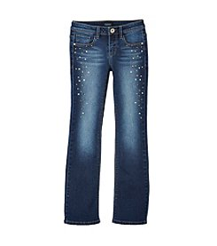Squeeze® Girls' 7-16 Bling Bootcut Jeans