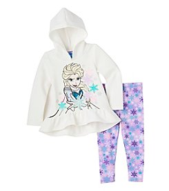 Disney® Girls' 2T-6X 2-Piece Frozen Hoodie And Leggings Set