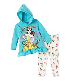 Disney Princess® Girls' 2T-6X 2-Piece Loyal Friend Hoodie And Leggings Set