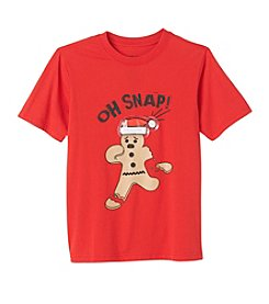 Seven Oaks Boys' 8-20 Short Sleeve Oh Snap! Tee