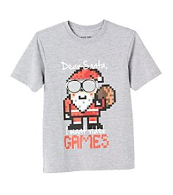Seven Oaks Boys' 8-20 Short Sleeve Dear Santa Tee