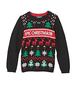 33 Degrees Boys' 8-20 Epic Christmas Sweater