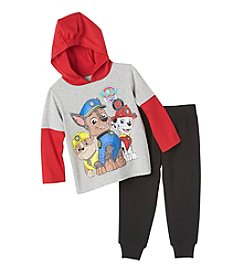 Nickelodeon Boys' 2T-4T 2-Piece Paw Patrol Hooded Tee And Joggers Set