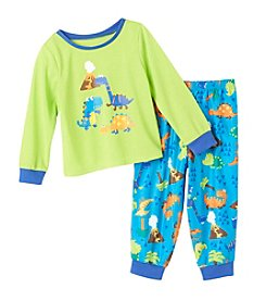 Komar Kids® Boys' 2T-4T 2-Piece Dino Pajama Set
