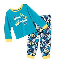 Komar Kids Boys' 2T-4T 2-Piece Built Tough Pajama Set
