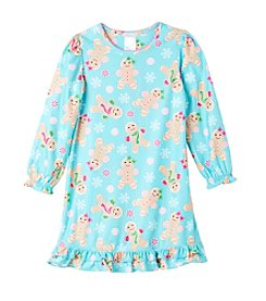 Komar Kids® Girls' 4-16 Gingerbread Cookies Nightgown