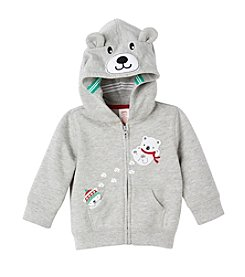 Mix & Match Baby Boys' Polar Bear Fleece Hoodie