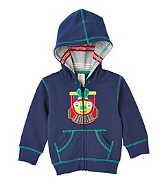 Mix & Match Baby Boys' Train Fleece Hoodie