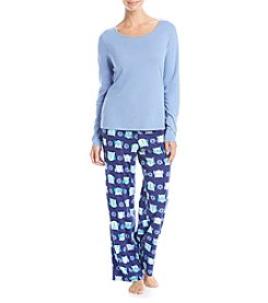 Relativity® Long Sleeve Pajama Set