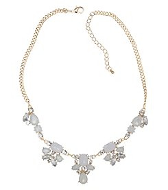 Relativity® Goldtone Statement Necklace