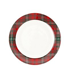 LivingQuarters Rustic Lodge Collection Dinner Plate