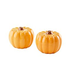 LivingQuarters Pumpkin Salt & Pepper Set