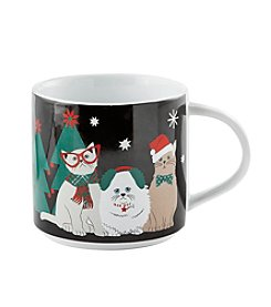 John Bartlett Pet Christmas Cats Mug