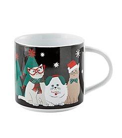 John Bartlett Pet Christmas Cats Mug