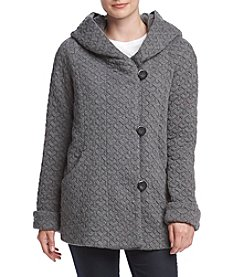 Gallery® Cozy Fleece A-Line Jacket