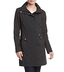 Cole Haan® Packable A Line Rain Coat