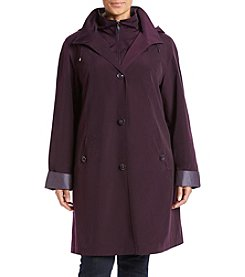 Gallery Plus Size® A-Line Rain Walker