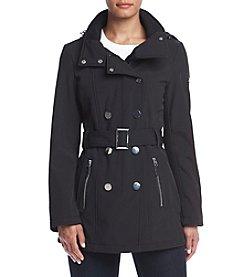 Calvin Klein Belted Softshell Coat
