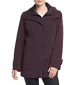 Gallery® Faux Silk Anorak