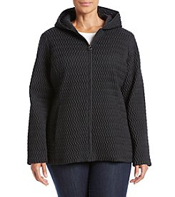Anne Klein® Plus Size Scrunch Quilt Jacket