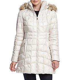 Jones New York® Quilt Puffer Down Jacket