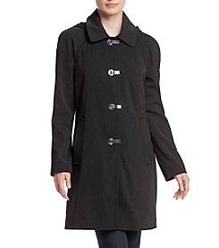 London Fog® A-Line Hooded Clip Coat