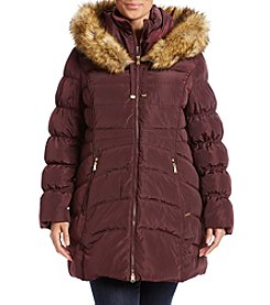 Laundry® Plus Size Fit And Flare Down Jacket